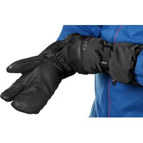 Outdoor Research Highcamp 3-Finger Gloves Herr black